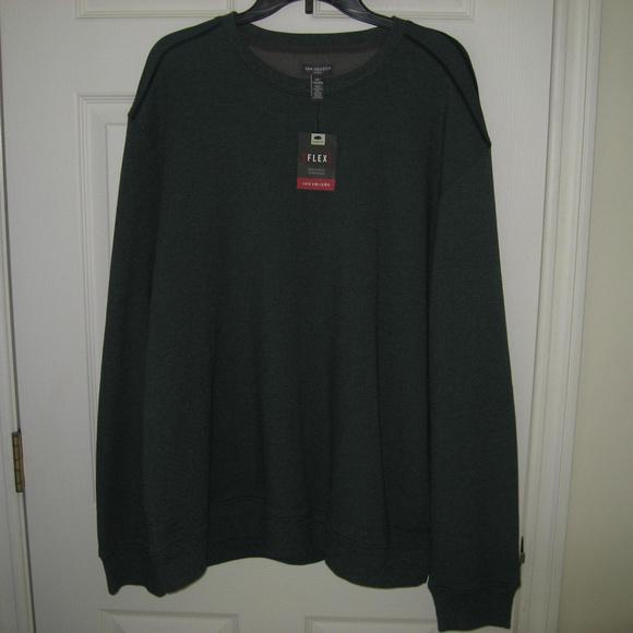 Van Heusen Other - Men's Van Heusen Green Flex Sweatshirt XXL NWT
